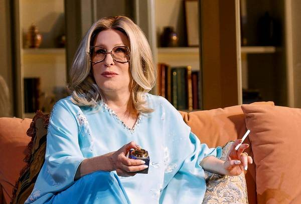 "Bette Midler stars as the Hollywood superagent Sue Mengers in the monologue ""I'll Eat You Last."""