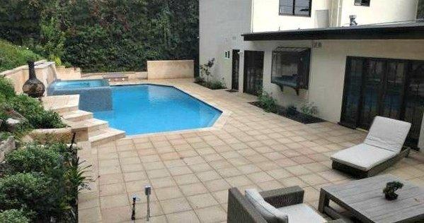 Among other renovations, actress Naya Rivera remodeled the salt water pool at the house she has for sale.