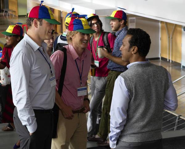 "Vince Vaughn, left, Owen Wilson and Aasif Mandvi in ""The Internship."""