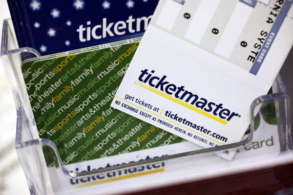 Ticketmaster is a leading supplier of paperless tickets.