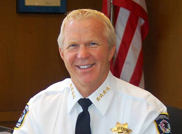 Naperville police Chief Robert Marshall assumed his current office in May 2012.