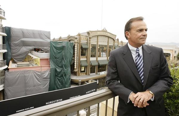 developer Rick Caruso, overlooking the Americana at Brand, has ...