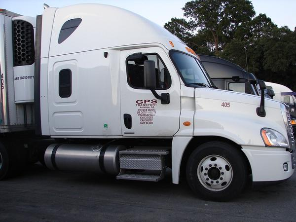 Missing GPS Transport truck