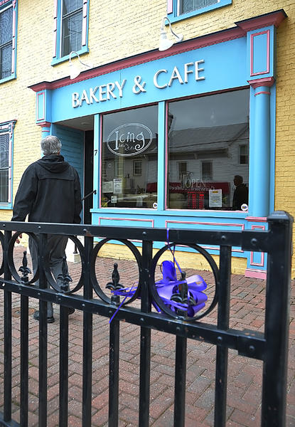 Icing Bakery & Cafe, a family-owned store in downtown Boonsboro, closed Sunday.