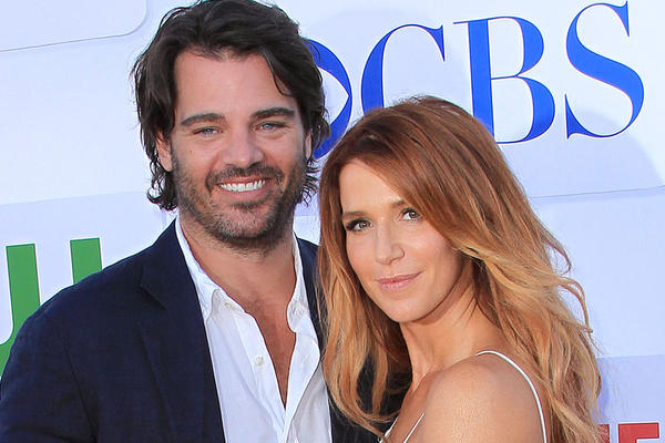 Actress Poppy Montgomery and her boyfriend Shawn Sanford welcomed a baby girl on Monday.