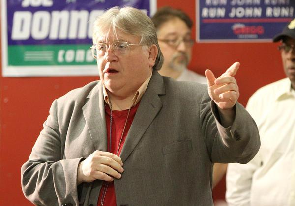 Butch Morgan in October 2011.