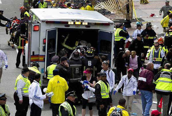 Coordination between first responders and hospitals helped limit the severity of casualties at the Boston Marathon.