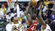 INDIANAPOLIS -- Paul George had 27 points to help the Indiana Pacers defeat the Atlanta Hawks 113-98 on Wednesday night and take a 2-0 lead in their first-round Eastern Conference playoff series.