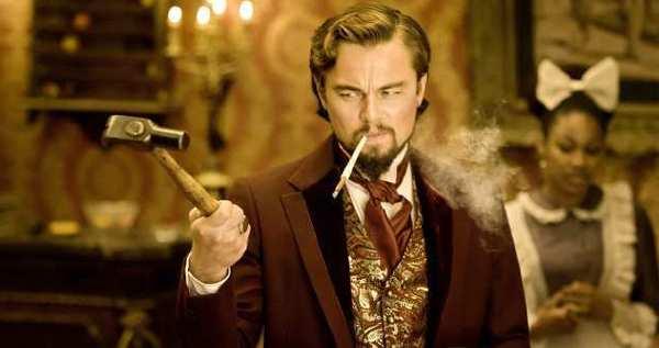 """Calvin Candie (Leonardo DiCaprio) in """"Django Unchained."""""""