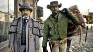 """Django Unchained,"" Quentin Tarantino's double-Oscar-winning Southern Western — about a former slave (Jamie Foxx) trying to free his wife (Kerry Washington) from a vile plantation owner (Leonardo DiCaprio) with the aid of a witty German bounty hunter (Christoph Waltz) — was one of last year's most memorable films."