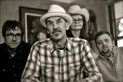 Bernie King and the Guilty Pleasures sing that The highway holds you prisoner, and the highway brings the Minneapolis band back to Aberdeen Friday. The group plays Americana music and alternate country.