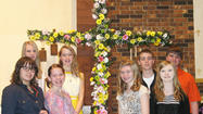 Youngsters assist with Easter worship