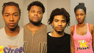 A Rockford man, his sister and two people from Chicago are accused of robbing a man and leaving him bleeding to death from stab wounds in an alley in the Austin neighborhood earlier this year.