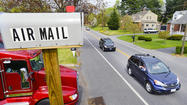 'Air Mail' on Edgewood Drive