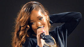 Rihanna at 1st Mariner Arena [Pictures]