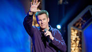 "<span style=""font-size: small;"">Brian Regan can turn up anywhere.</span>"