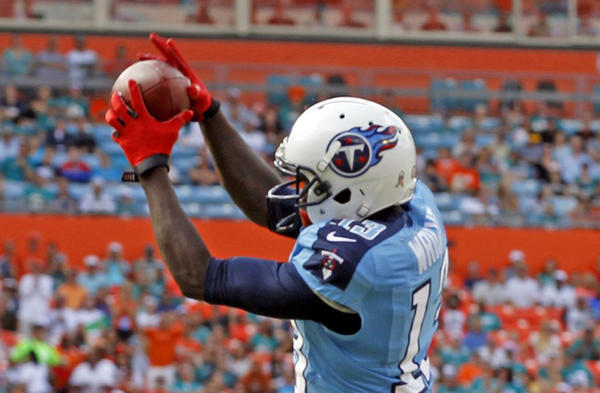 Tennessee Titans' Kendall Wright.