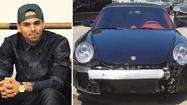 This Porsche was available on eBay, and we're pretty sure Chris Brown could tell you how it got that damage to the front end.