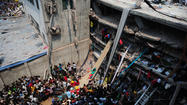 NEW DELHI – As rescue workers clawed through the wreckage Thursday after a building collapsed in Bangladesh, the toll rose to at least 225 people killed, most of them apparel workers, and over 1,000 injured.