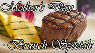This Mother's Day, treat your mother and/or wife to a special brunch or dinner at any of these local restaurants:
