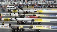 NHRA drag racing is one of the few sports that's typically not shown live on television. But that will change this weekend.