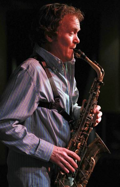 Saxophonist Pat Mallinger performs in the Bobby Lewis quintet at the Jazz Showcase in Chicago earlier this year.