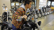 Harley-Davidson Inc. posted a first-quarter profit of $224.1 million, or 99 cents a share, up from $172.0 million, or 74 cents a share a year earlier.