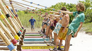 To start out, we get a very long recap of last week's freakin' awesome Tribal Council where Malcolm turned the whole game on its head, and Phillip went home. It was so awesome, in fact, that no one can even be mad at them when they get back to camp, congratulating the guys on their bold move. Plus I think they're all relieved that Phillip went home, and they don't have to listen to him and all of his annoying 'Stealth 'R Us' talk.