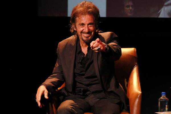 Celeb-spotting around South Florida - Al Pacino at Hard Rock preview show