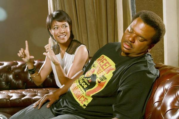 "Writer and debut director Tina Gordon Chism and leading man Craig Robinson talk about the family comedy ""Peeples."""