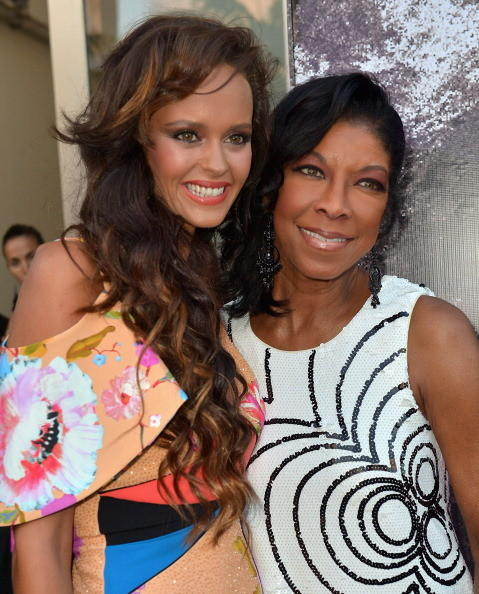 Celeb-spotting around South Florida - Shaila Durcal and Natalie Cole