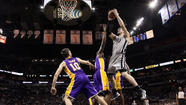 Spurs beat Lakers