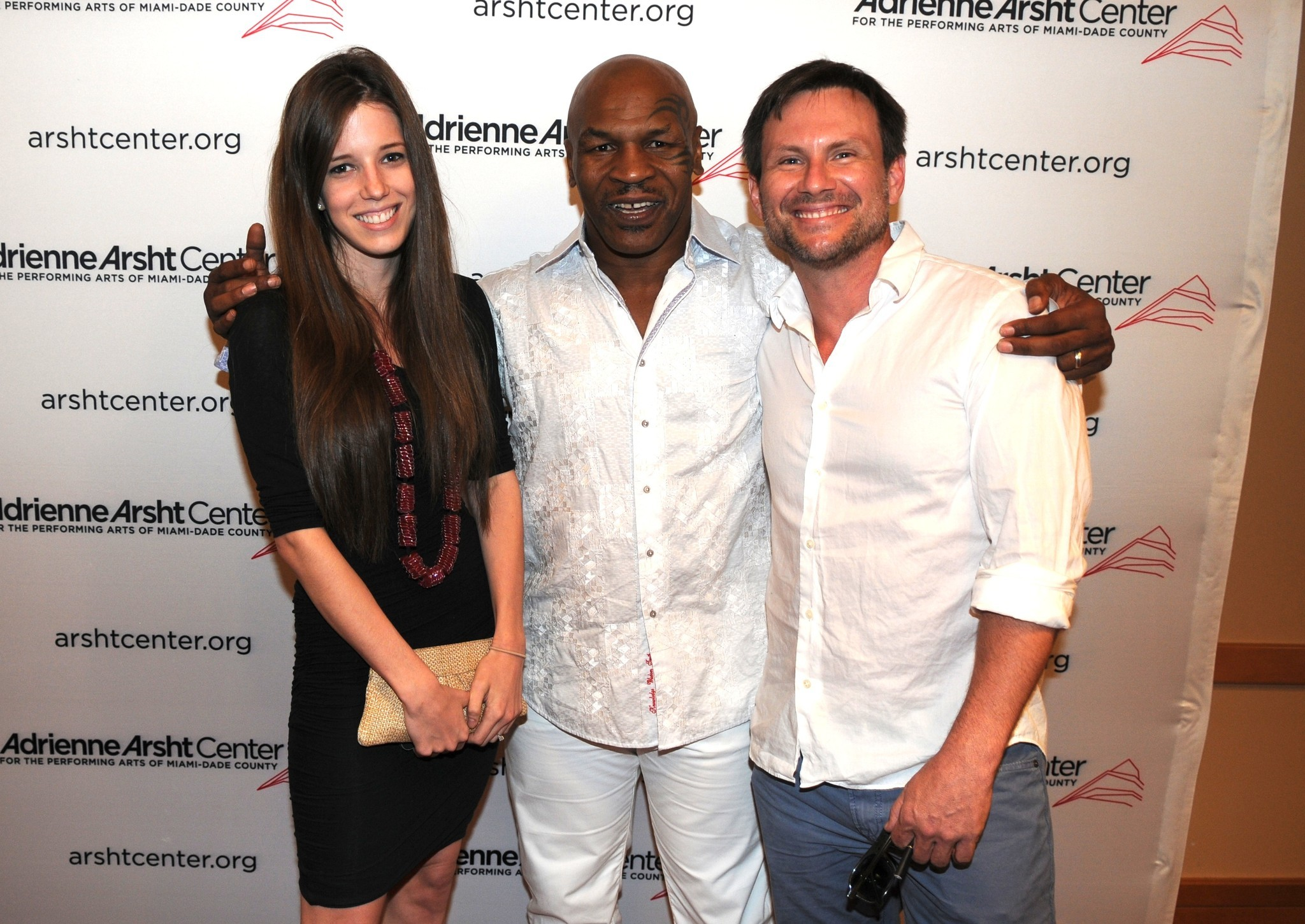 Celeb-spotting around South Florida - Brittany Lopez, Mike Tyson and Christian Slater