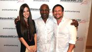 Brittany Lopez, Mike Tyson and Christian Slater