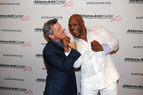 Celeb-spotting around South Florida - Alan Fein and Mike Tyson