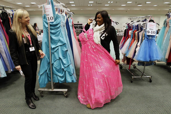 Prom costs are surging, according to a new survey from Visa.