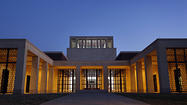 "President George W. Bush's presidential library, built on the campus of Southern Methodist University in Dallas, will <a href=""http://www.latimes.com/features/books/jacketcopy/la-et-jc-george-w-bush-presidential-library-opens-this-week-chads-and-all-20130423,0,1478008.story"">host its invitation-only dedication Thursday</a>. Former presidents have long donated their records and documents to libraries built to chronicle their presidencies and serve as resources for the public."