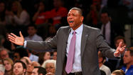 Boston Celtics head coach Doc Rivers was fined $25,000 for criticizing officials following Tuesday's 87-71 loss to the New York Knicks.