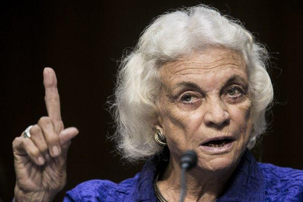 "Former Supreme Court Justice Sandra Day O'Connor believes the nation is ""absolutely"" ready for a female president."