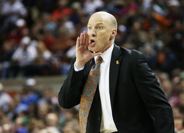 Illinois men's basketball coach John Groce.