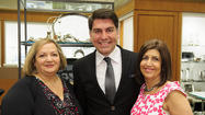 Neiman Marcus Northbrook welcomed than 50 members and friends of The Auxiliary of NorthShore University HealthSystem (NorthShore) at Evanston & Glenbrook Hospitals on April 11 for the organization's Gala kick-off. Guests enjoyed a delicious breakfast and delighted in an exclusive trunk show featuring the exquisite works of Michael Aram. The distinguished designer mixed and mingled with guests before personally presenting pieces from his incredible collection. In addition to the elite showing, guests had an opportunity to learn more about The Auxiliary's highly anticipated Gala.