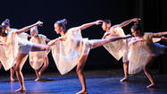 Dancers will perform <em>en pointe</em>, or on the tips of their toes, for the first time in four years during Laguna Beach High School's spring dance concert this weekend, said Melanie Lewis, dance team booster president.