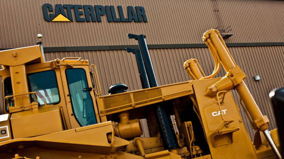 Caterpillar's East Peoria plant is shown in a 2012 photo.