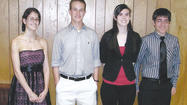 The Maugansville Ruritan Club announced its scholarship winners from local high schools.