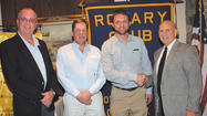 Hagerstown Mayor David S. Gysberts visited the Rotary Club of Long Meadows recently and spoke about the new efforts to revitalize downtown by possibly working with the Sora Development Group and by looking at building a multi-use community complex near downtown, which would include a baseball facility for a minor league team, such as the Hagerstown Suns.