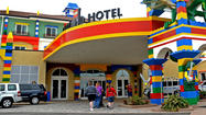 CARLSBAD, Calif. — The Legoland Hotel, which opened April 5, got plenty of little things wrong in its first weeks. But its designers got one thing enormously right, and that will make this place a screaming success: kid-centricity.