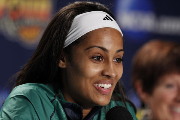 Former Notre Dame star Skylar Diggins led the Irish to a berth in the NCAA Final Four last season.