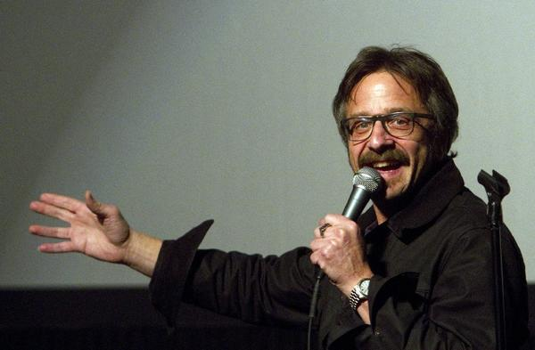 Marc Maron does stand-up at the Downtown Independent Theater.