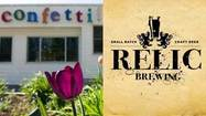 Relic Brewing, CT Big Red Truck and Confetti Restaurant, all of Plainville, celebrate the ancient Roman springtime festival at the brewery May 3.