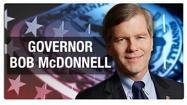 Governor Bob McDonnell says there's a lot he would like to say, but on Thursday he declined to comment on a court case involving the former chef at the Governor's mansion.